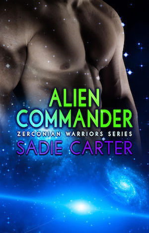 Alien Commander by Sadie Carter