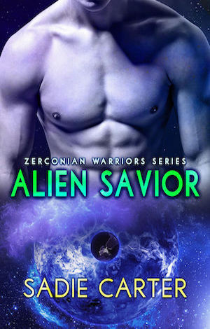 Alien Savior by Sadie Carter