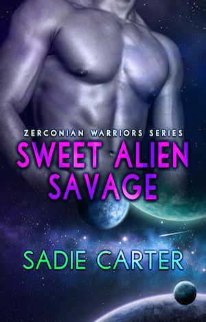 Sweet Alien Savage by Sadie Carter